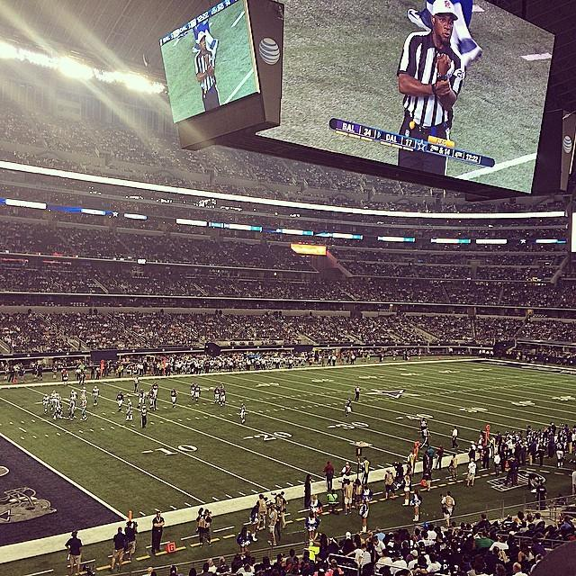 Seat view from section 144 at AT&T Stadium, home of the Dallas Cowboys