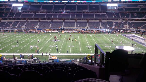Founder's Club Seats at AT&T Stadium