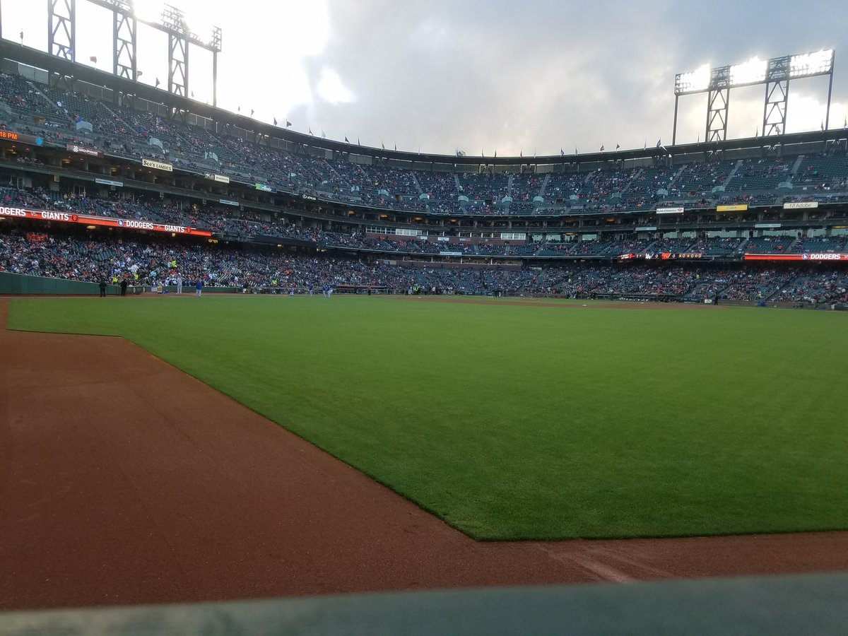 View from Triples Alley at AT&T Park. Home of the San Francisco Giants.