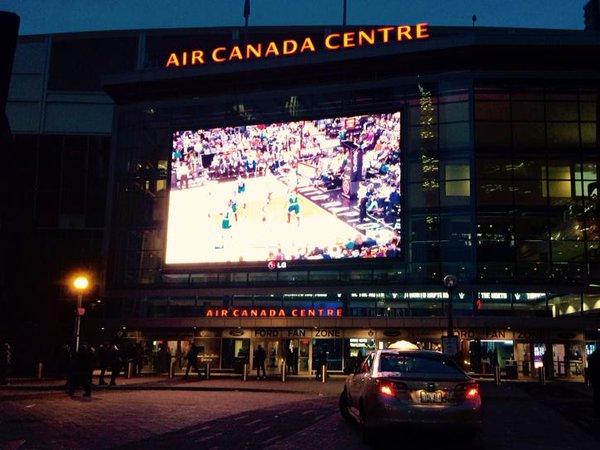 The Air Canada Centre, Home of the Toronto Raptors