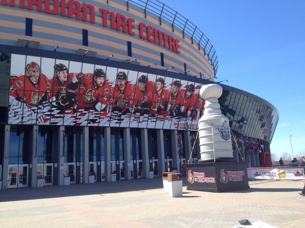 Canadian Tire Centre, Home of the Ottawa Senators