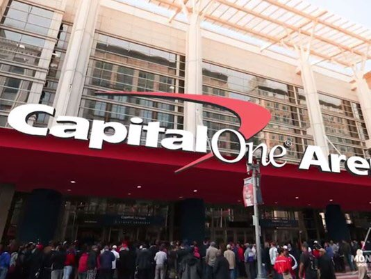Capital One Arena, Home of the Washington Capitals and Washington Wizards