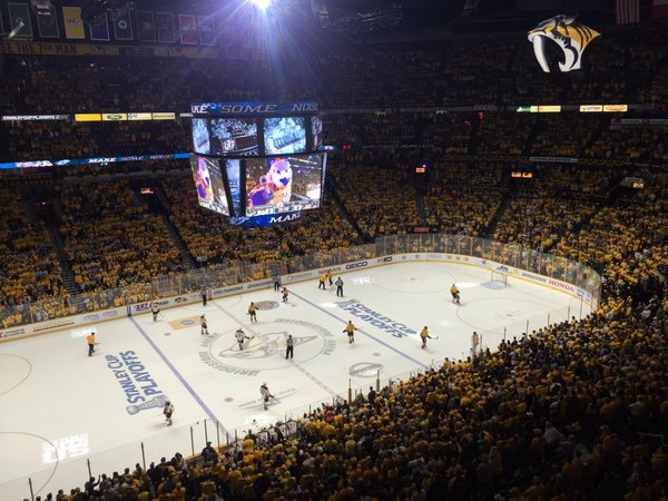 Bridgestone Arena, Home of the Nashville Predators