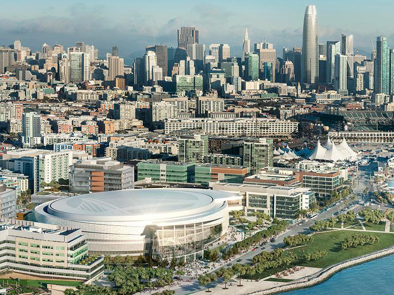 Chase Center, Future Home of the Golden State Warriors