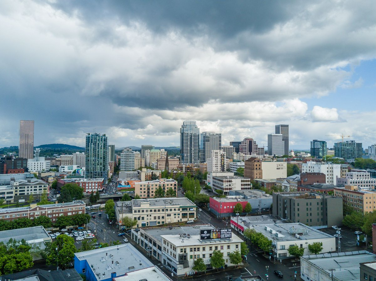 Downtown Portland, Oregon Skyline
