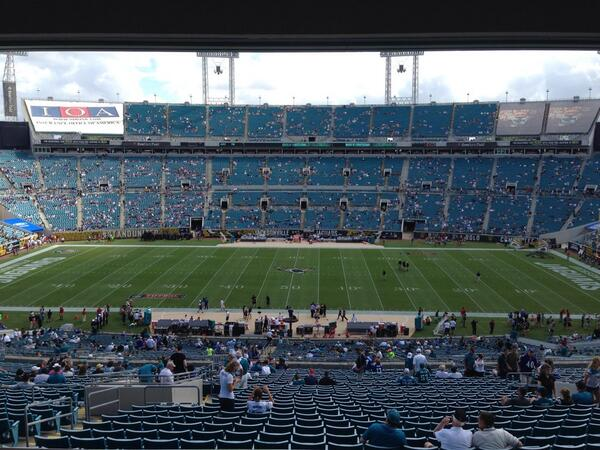 Photo of TIAA Bank Field. Home of the Jacksonville Jaguars.