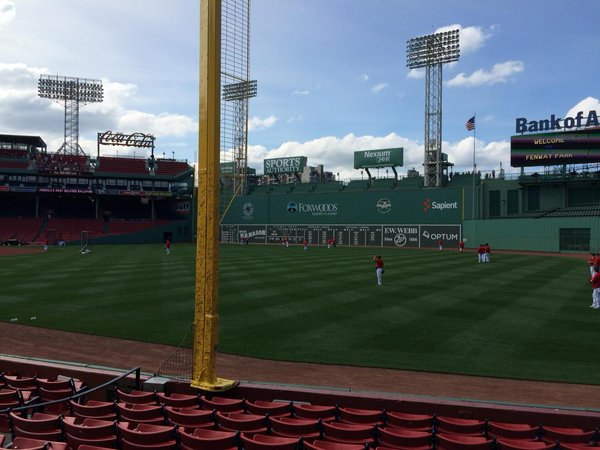 The Pesky Pole at Fenway Park, Home of the Boston Red Sox