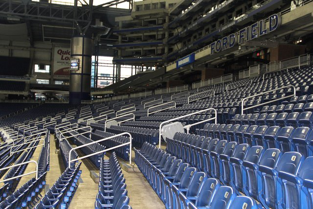 Seats at Ford Field, Home of the Detroit Lions