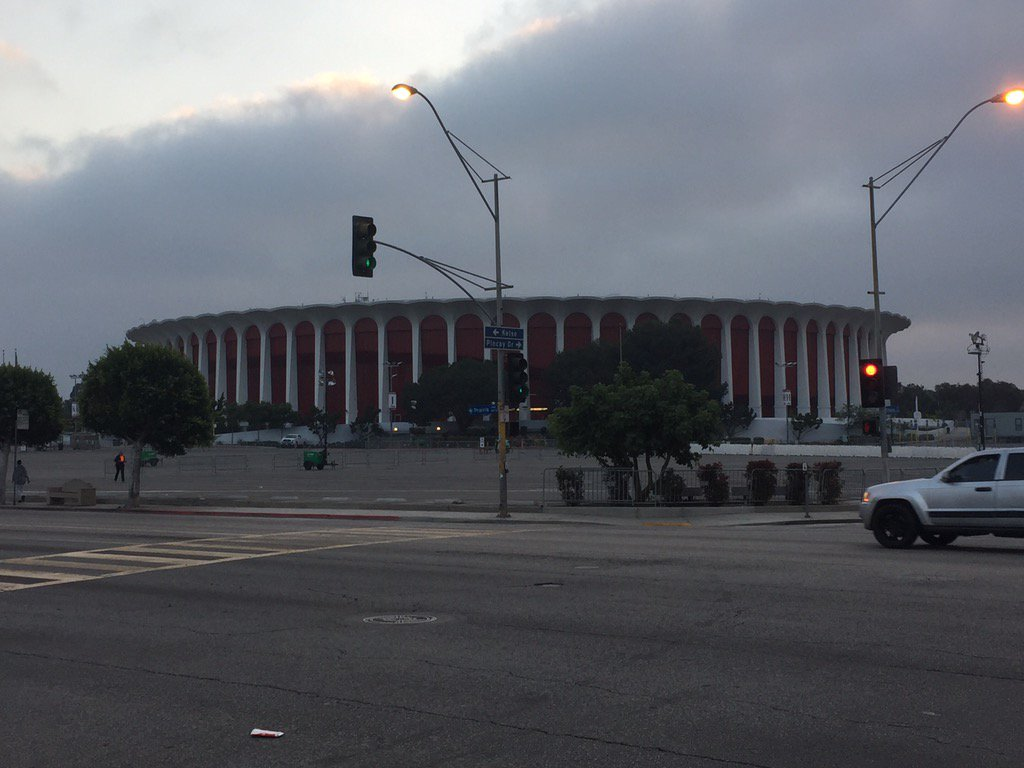 The Forum in Inglewood, California
