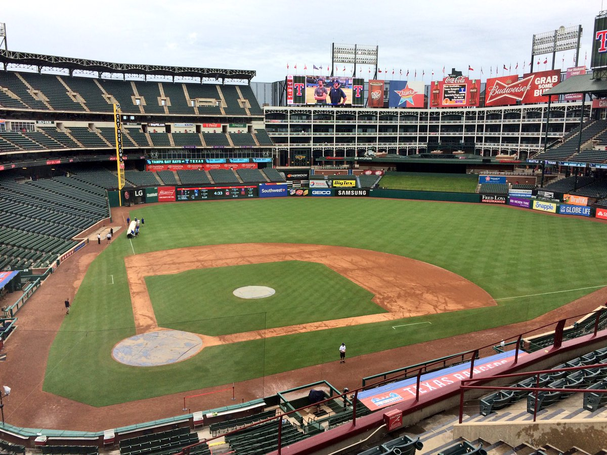 Globe Life Park, Home of the Texas Rangers