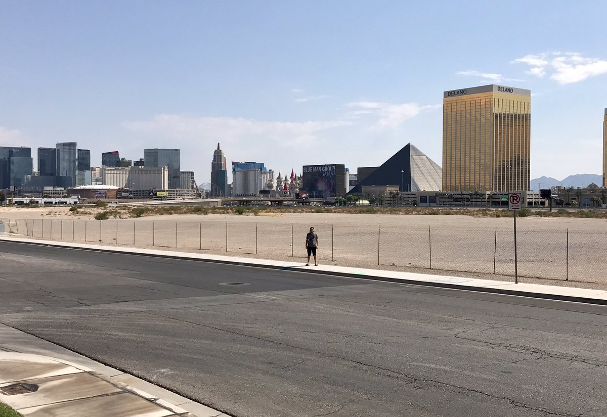 Future Site of the Las Vegas Raiders Stadium