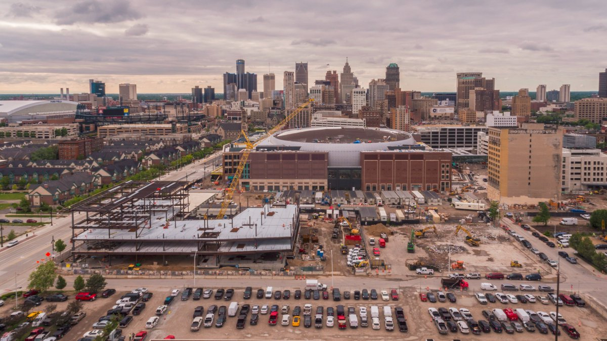 Little Caesar's Arena, Future Home of the Detroit Pistons