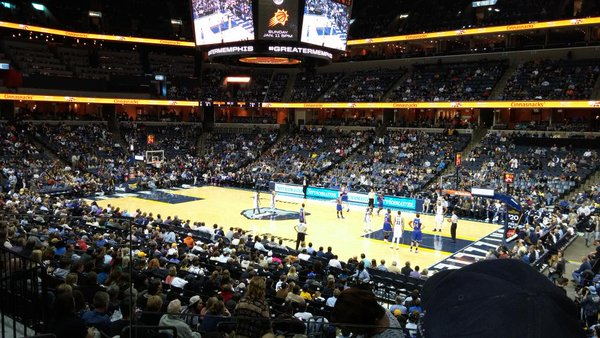 Fedex Forum Interior, Home of the Memphis Grizzlies