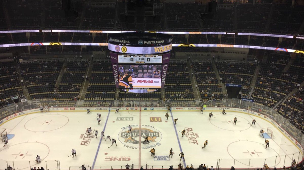 PPG Paints Arena, Home of the Pittsburgh Penguins