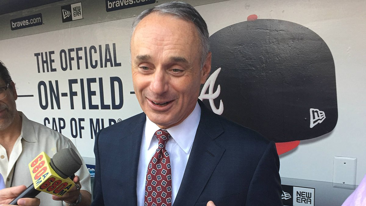 Rob Manfred, Major League Baseball Commissioner
