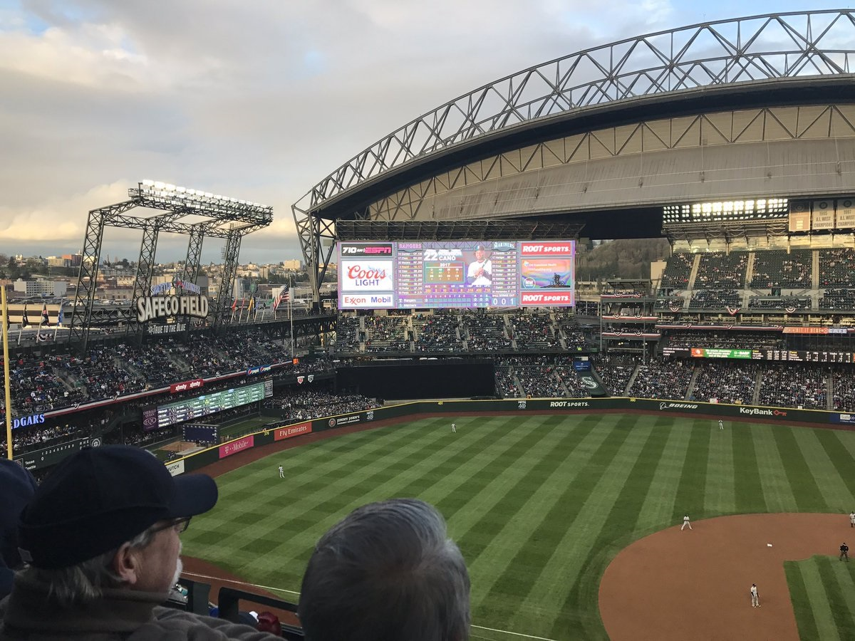 Photo of the interior of T-Mobile Park. Home of the Seattle Mariners.