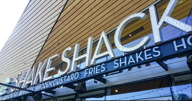 Exterior View of Shake Shack