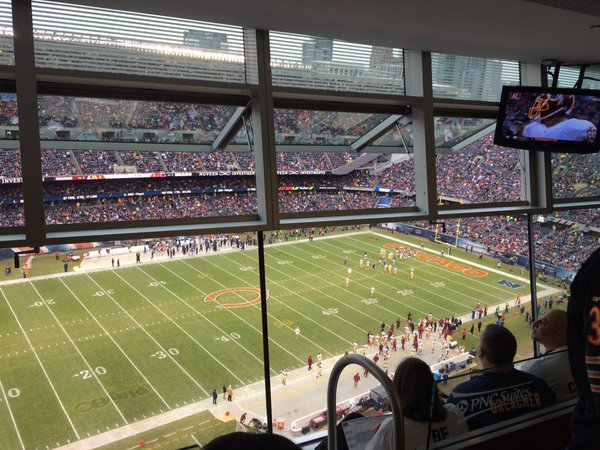 Private Suite at Soldier Field, Home of the Chicago Bears