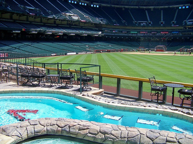 The Swimming Pool at Chase Field
