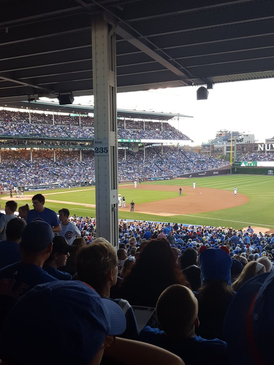 Obstructed View Seats at Wrigley Field, Home of the Chicago Cubs