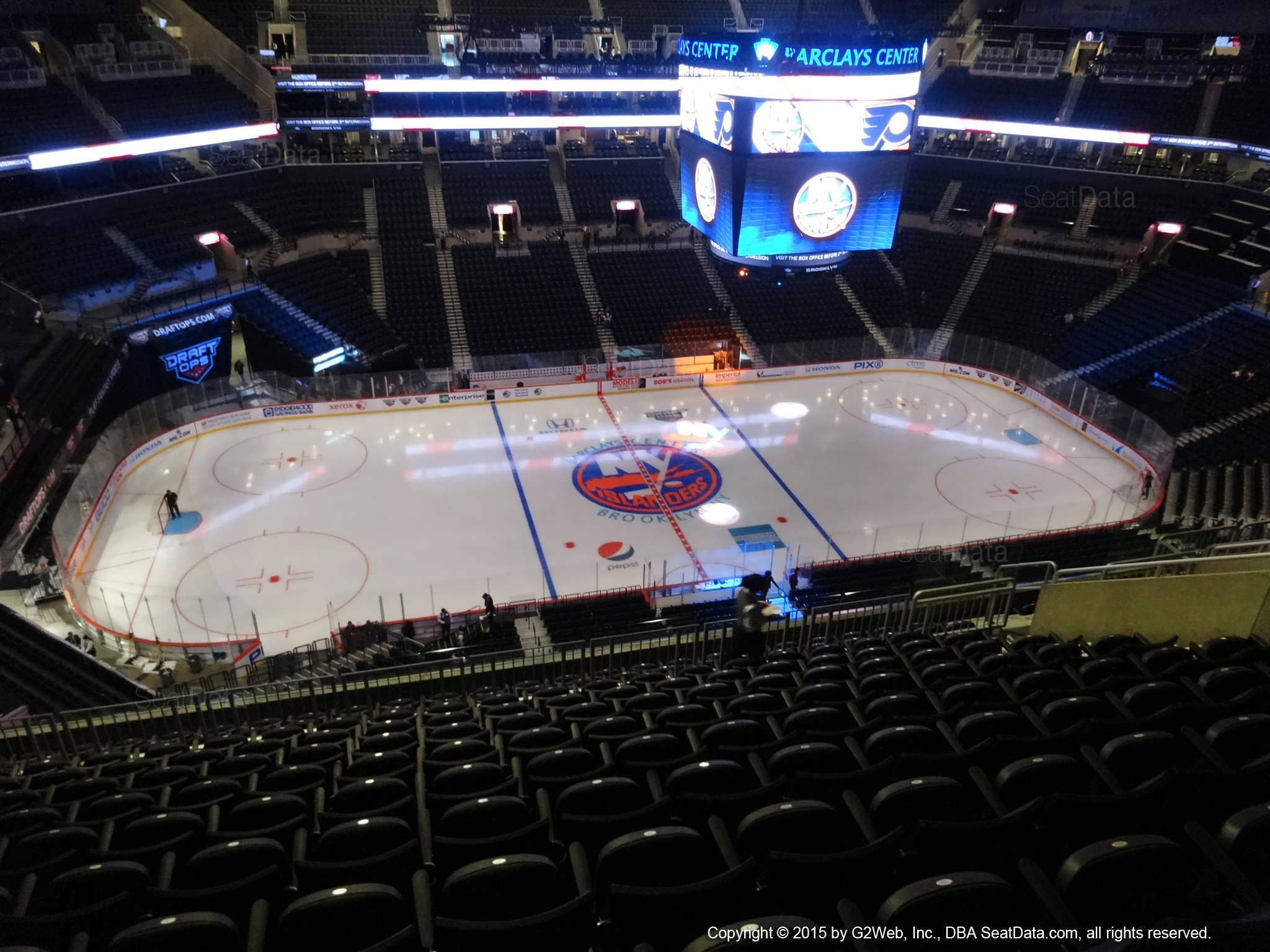 Seat View from Section 226 at the Barclays Center | New ...