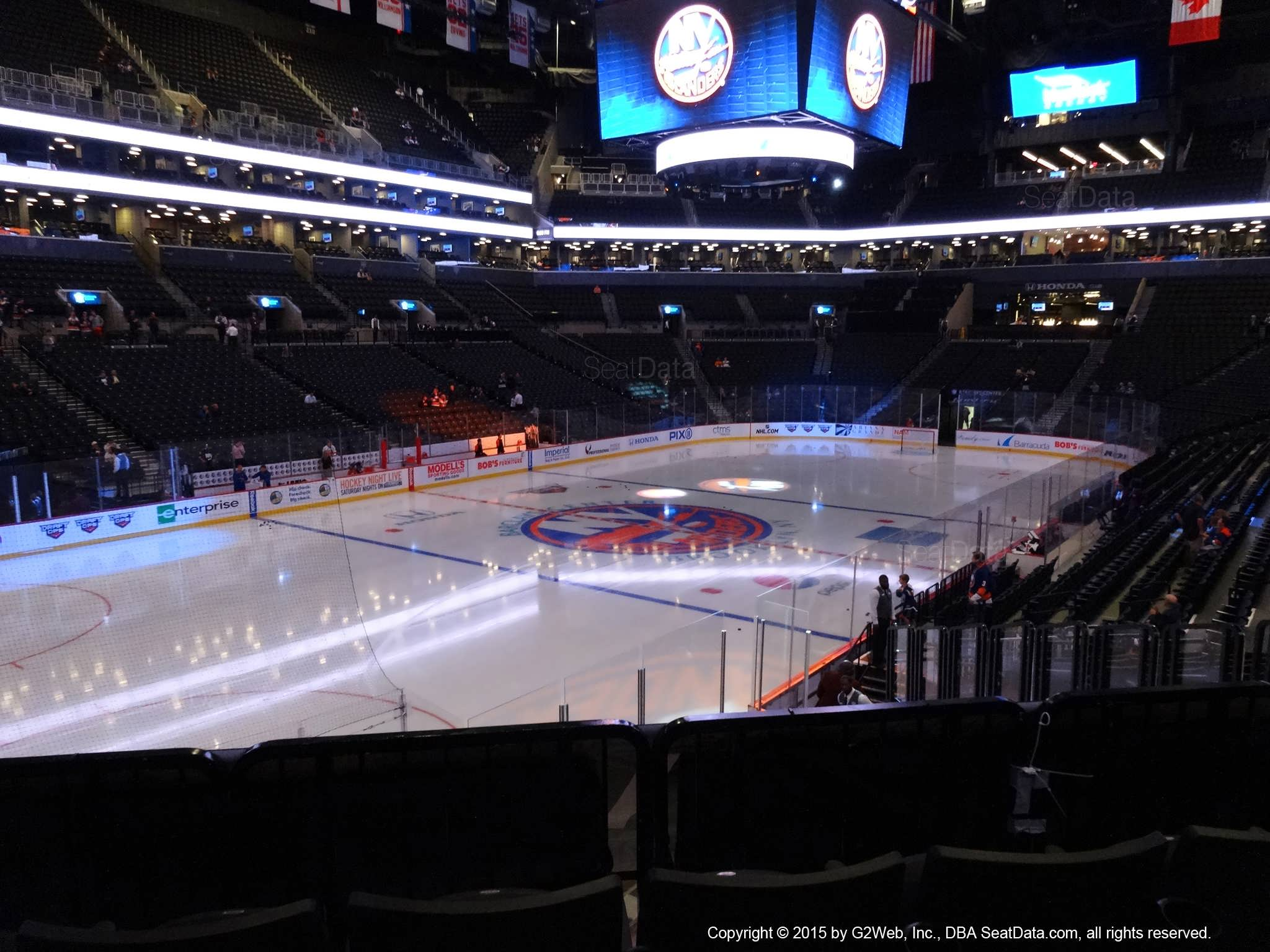 Seat View from Section 29 at the Barclays Center, home of the New York Islanders