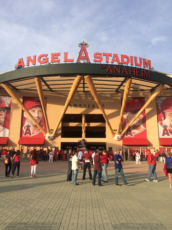 Angel Stadium of Anaheim, Home of the Anaheim Angels