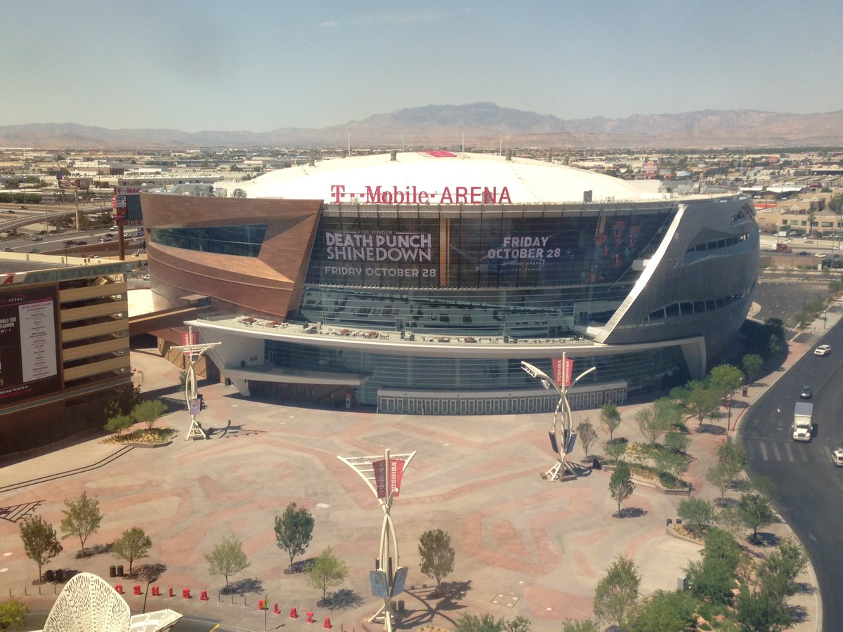 T-Mobile Arena in Las Vegas, Nevada