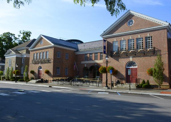 Exterior View of The Baseball Hall of Fame in Cooperstown, New York