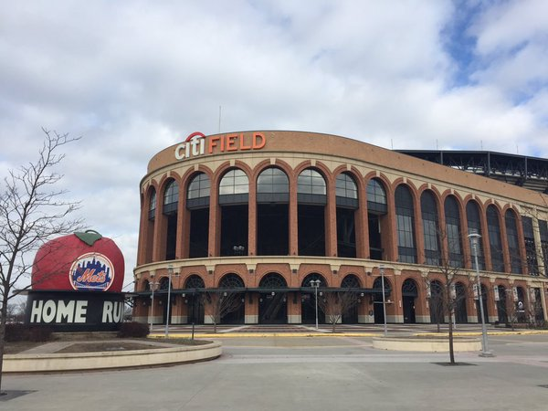 Exterior photo of Citi Field, Home of the New York Mets.