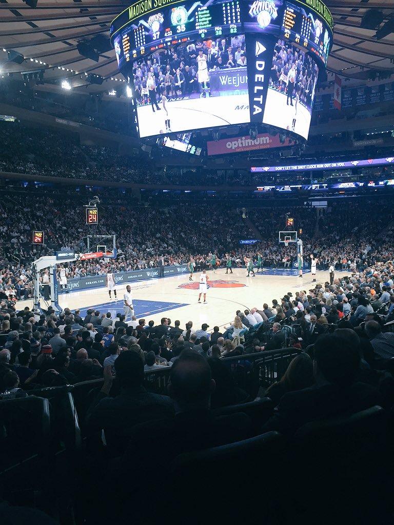 Breakdown Of The Madison Square Garden Seating Chart | New York Rangers ...