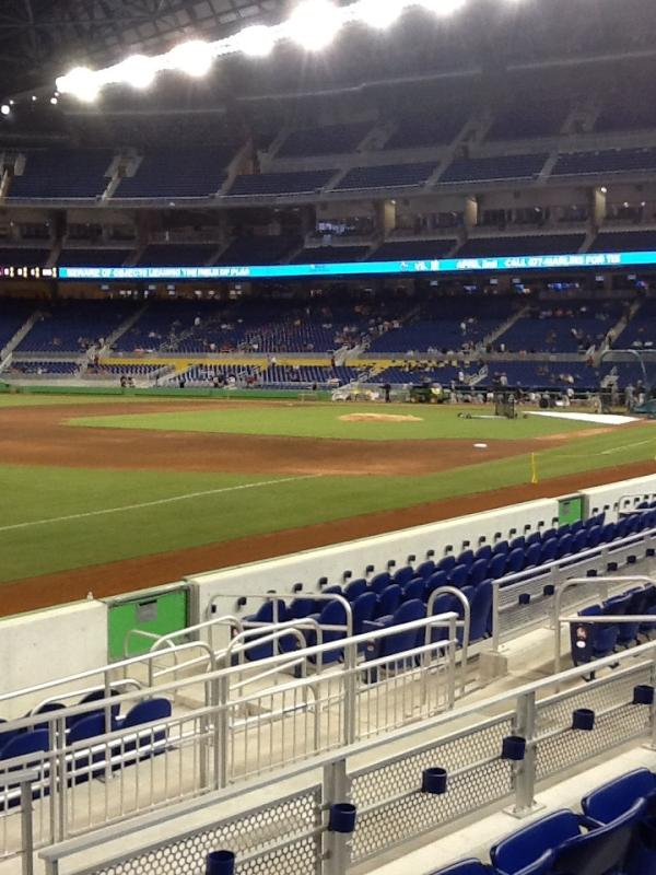 View from FL 11 at Marlins Park
