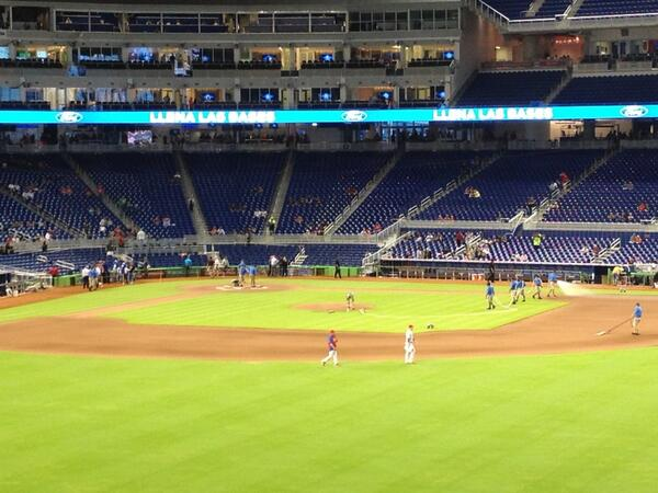 Seat view from section 38 at Marlins Park, home of the Miami Marlins