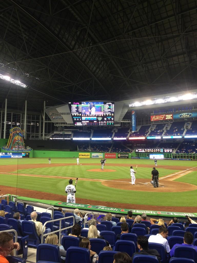 Seat view from section FL 7 at Marlins Park, home of the Miami Marlins