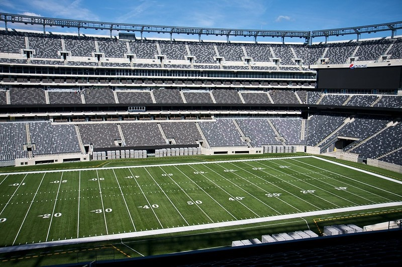 Photo taken from section 215 at Metlife Stadium. Home of the New York Giants and New York Jets.