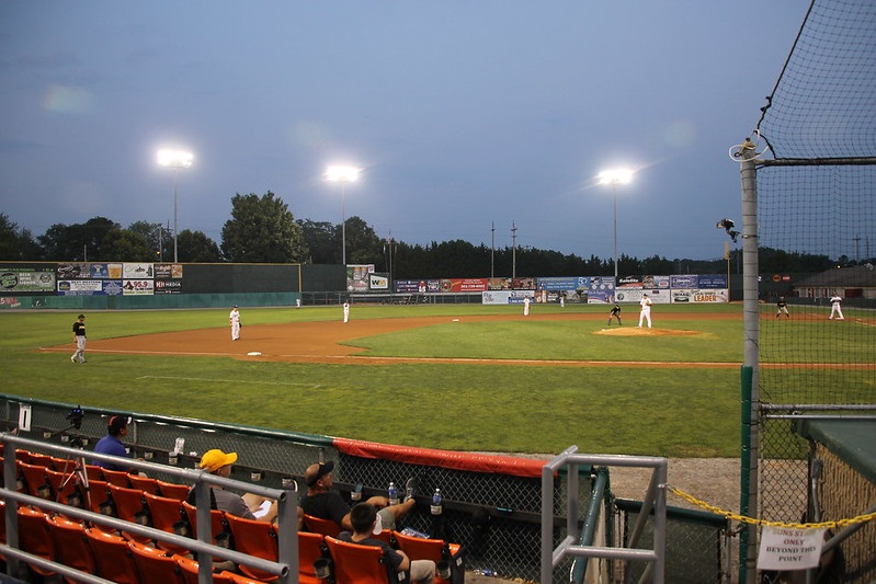 Photo of a West Virginia Power game at Appalachian Power Park in Charleston, West Virginia.