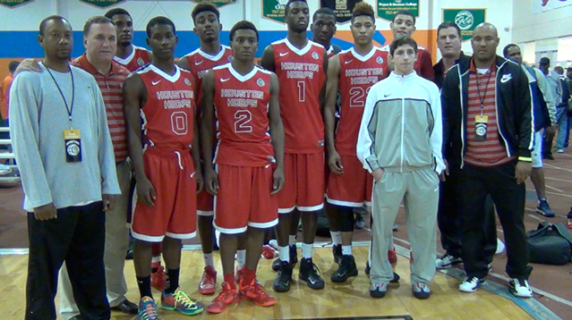 Houston Hoops AAU team.