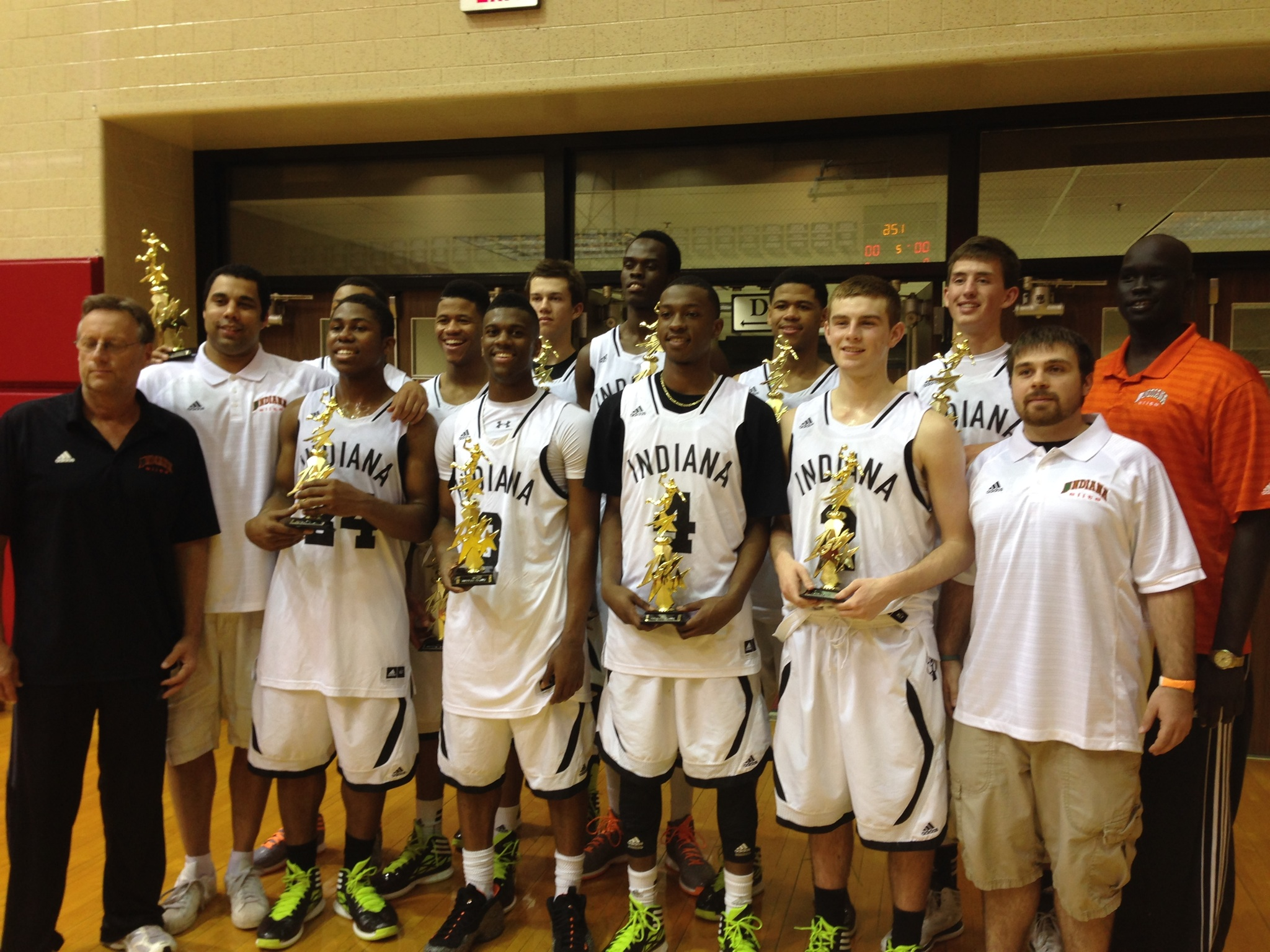 Indiana Elite AAU team.