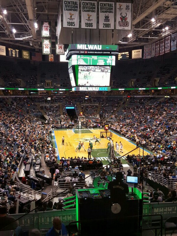 Bradley Center, Home of the Milwaukee Bucks