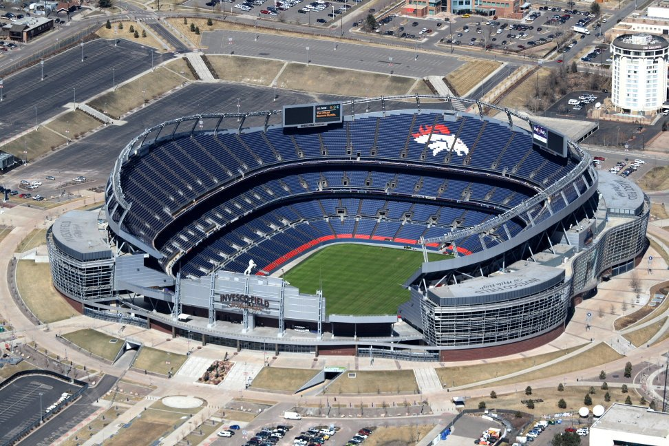 Mile High Stadium, Home of the Denver Broncos