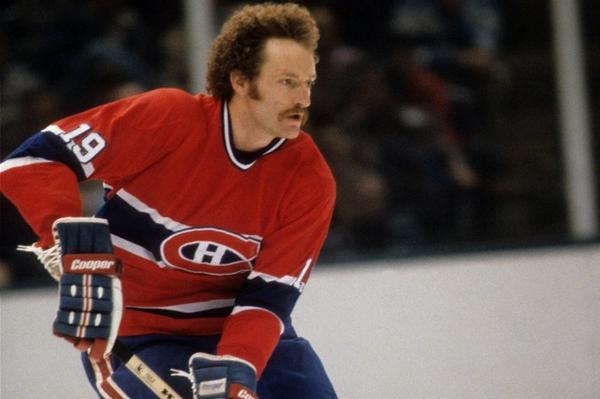 Photo of former Montreal Canadiens great Larry Robinson.