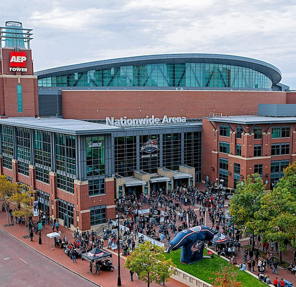 Nationwide Arena, Home of the Columbus Blue Jackets