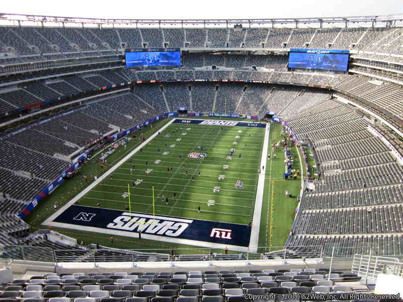 Seat view from section 324 at Metlife Stadium, home of the New York Jets