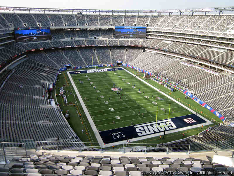 Seat view from section 329 at Metlife Stadium, home of the New York Jets