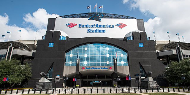 Bank of America Stadium, Home of the Carolina Panthers
