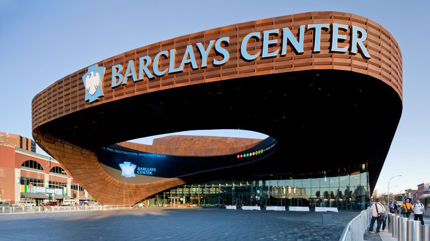 The Barclays Center, Home of the New York Islanders