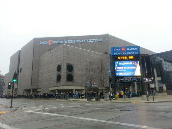 BMO Harris Bradley Center, Home of the Milwaukee Bucks