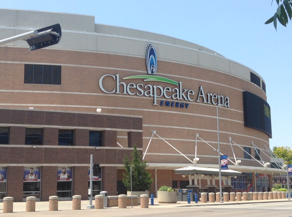 Chesapeake Energy Arena, Home of the Oklahoma City Thunder