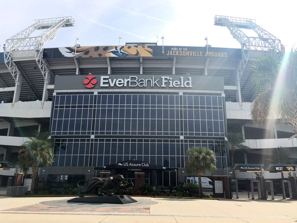 Everbank Field, Home of the Jacksonville Jaguars