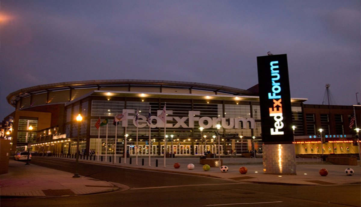 Fedex Forum, Home of the Memphis Grizzlies